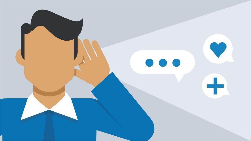 Digital marketing strategy: Listening phase