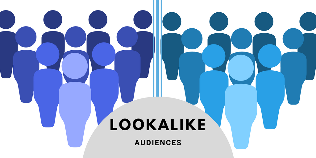 Facebook look alike audience illustration